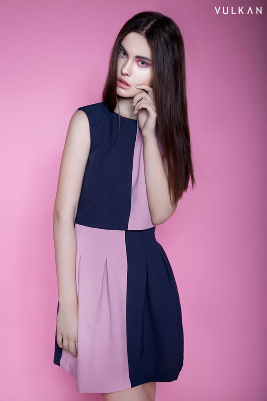 Dress Szyjemy Sukienki in Cotton Candy photoshoot