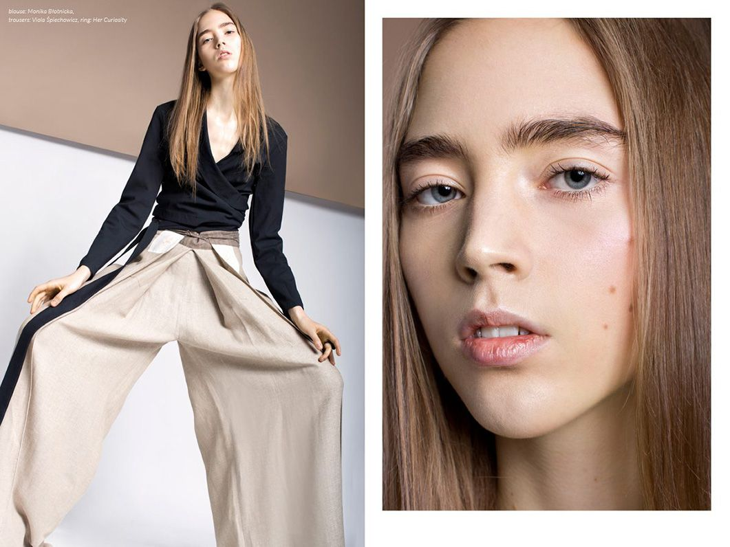 Zosia Bellaby in editorial for Flanelle