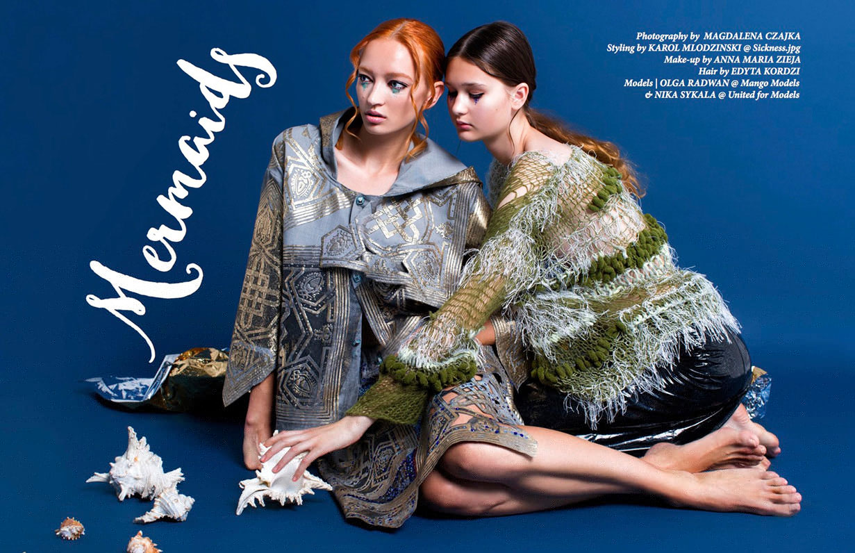 Olga Radwan and Nika Stykala for Coco Indie Magazine