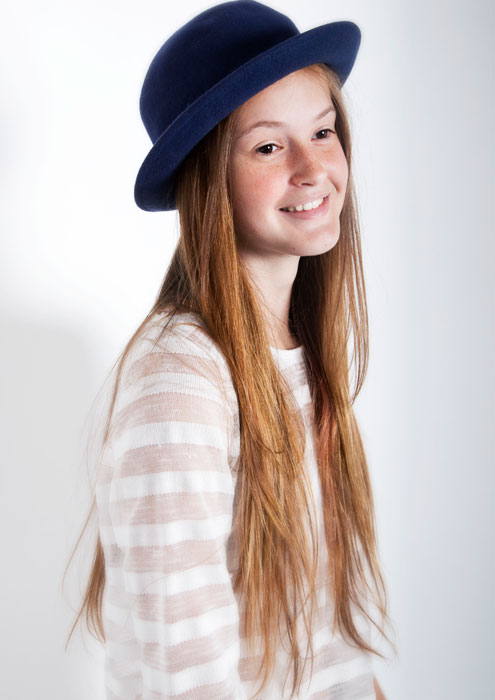 Cute smile of Ania M from Future Models