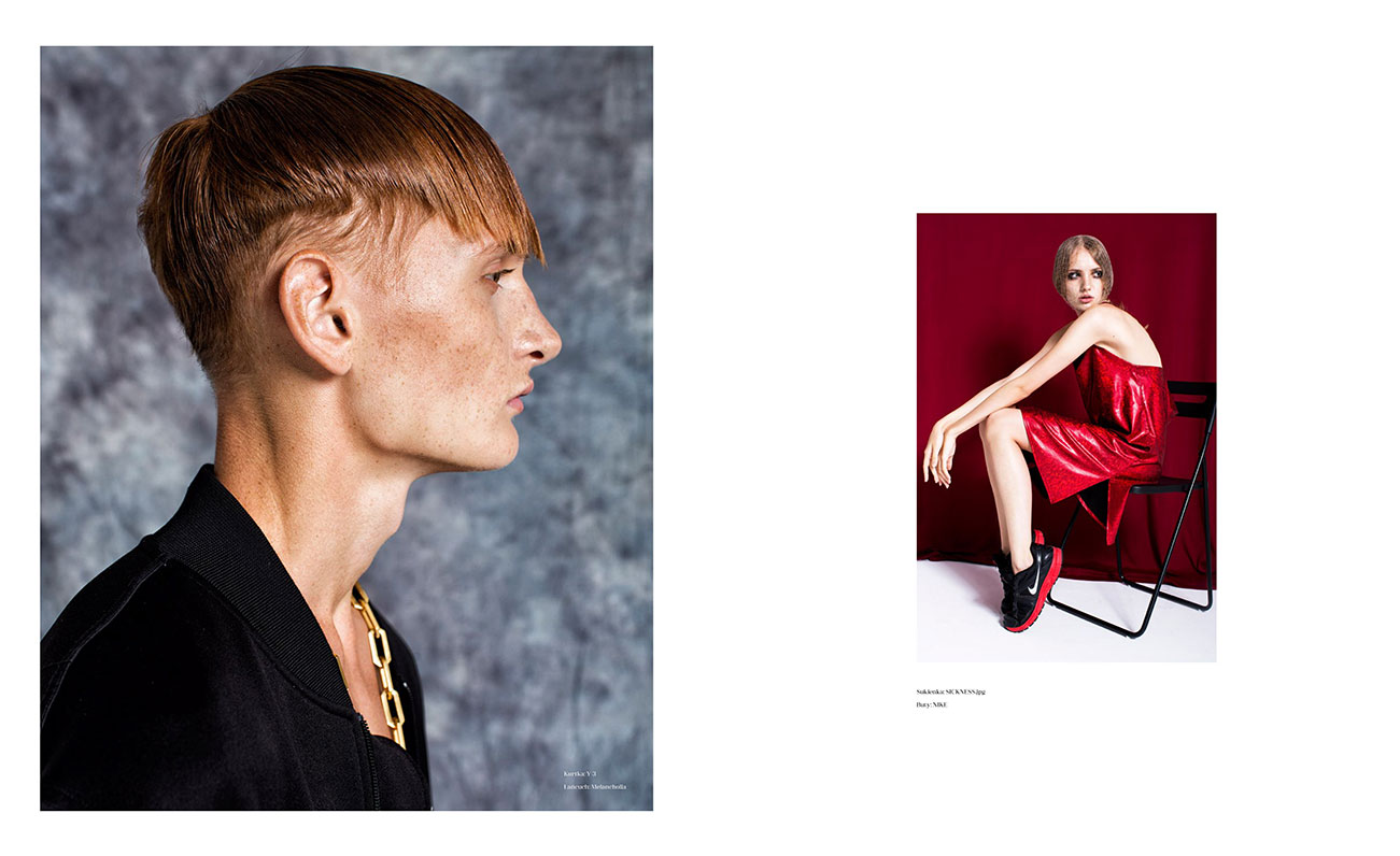 Tomek from More and Amelia from Neva Models for HIRO magazine